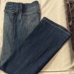 7 for all mankind, A pocket jeweled jeans # 30